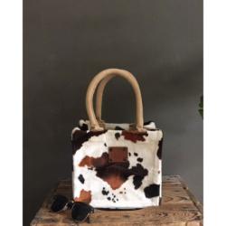 handgemaakte kleine handtas